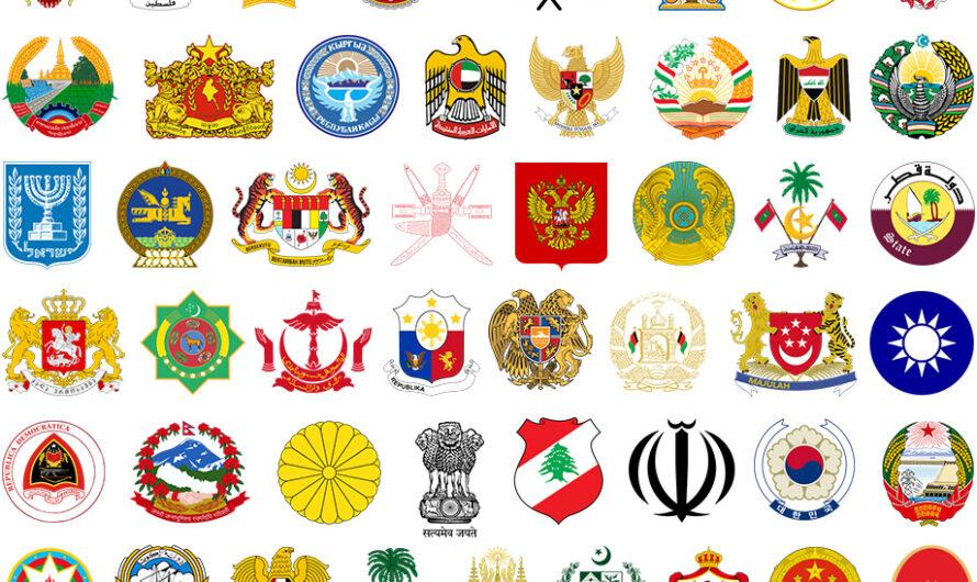 13 500 векторов гербов и флагов всех стран для гравировки и печати