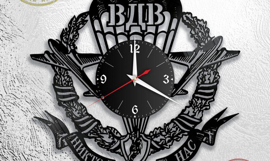 ВДВ [Версия 2]. Макет настенных часов для резки